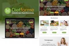 Site internet Diététicien