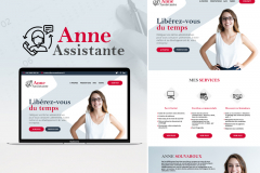 Site internet Assistante