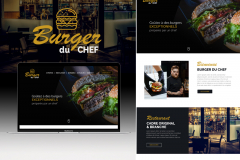 Site internet de restaurant